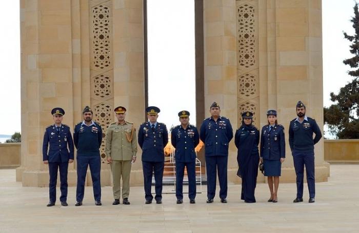 Pakistani Air Force delegation arrives in Azerbaijan -  VIDEO