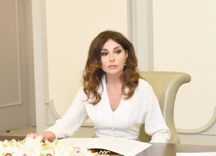 First Vice-President Mehriban Aliyeva made post on April battles