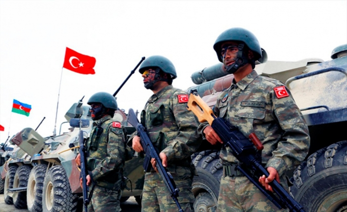 Signal troops of the Azerbaijani and Turkish armies began joint exercises - VIDEO