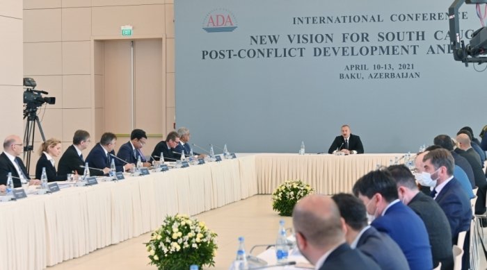 Ilham Aliyev: Armenians did it deliberately in order to erase the legacy of Azerbaijani culture