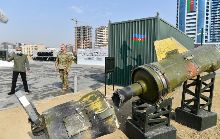 Baku Tribune's reportage from the War Trophies Park - VİDEO