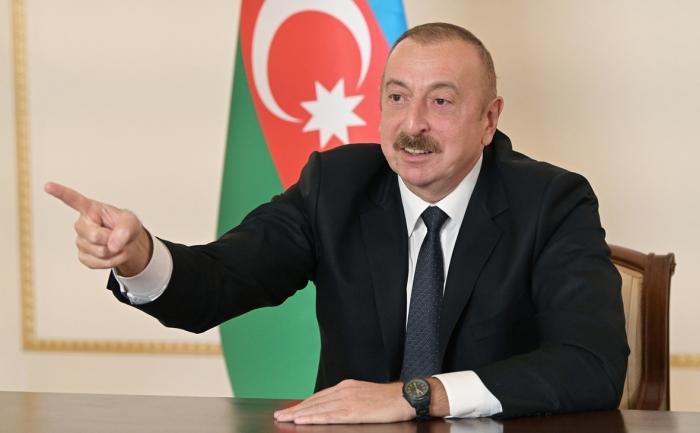 Azerbaijani President: