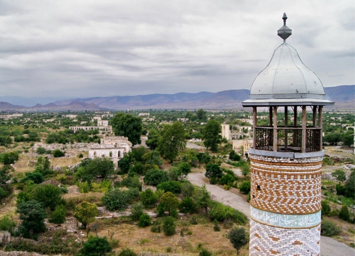 Azerbaijani MoD: Video footage of the Mughanli village of the Aghdam region - VIDEO