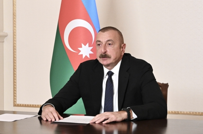 """İlham Aliyev: We are deeply concerned by """"vaccine nationalism"""""""