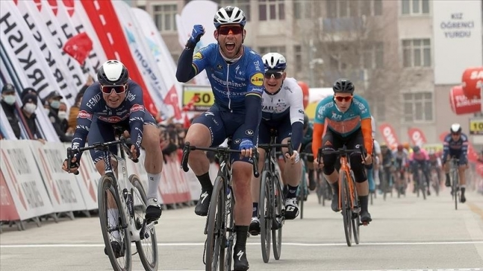 British cyclist claims 2nd leg of Tour of Turkey
