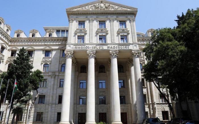 Azerbaijani MFA comments on statement of Armenian MFA regarding restoration works in Shusha