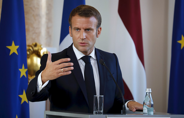 French president backs lifting of patents on COVID-19 vaccines