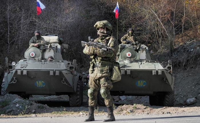 Russian MoD: No provocative actions against peacekeepers in Karabakh