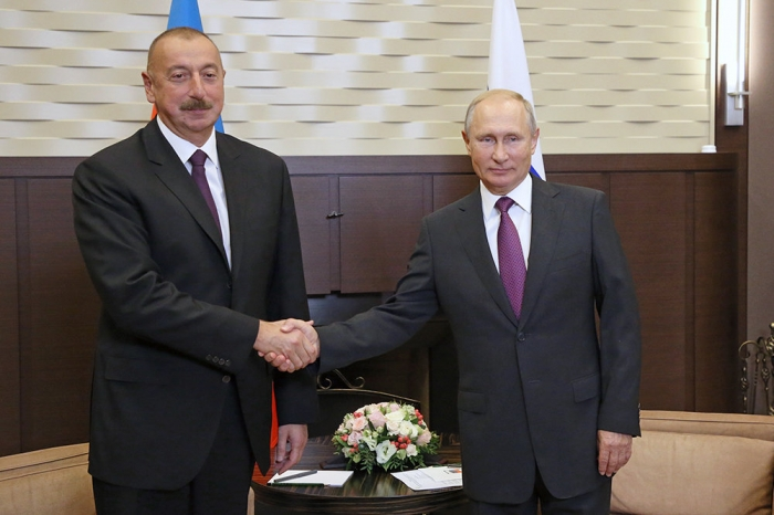 Vladimir Putin: Azerbaijan plays an active role in addressing many important issues on the international agenda