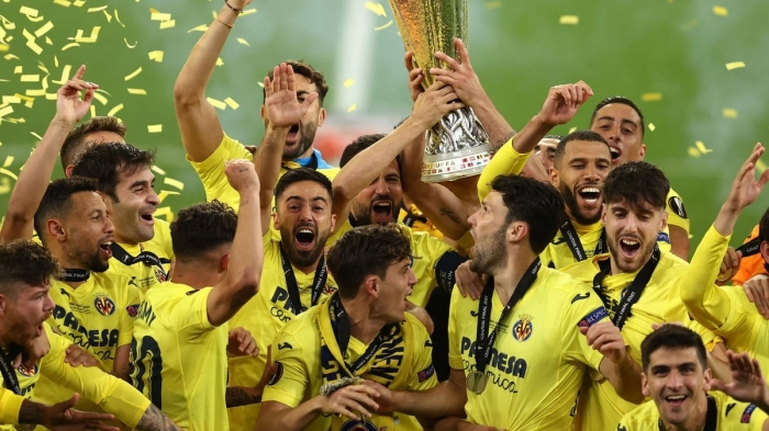 Europa League: Villarreal beats Man United on penalties to claim title