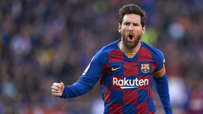 Barcelona president says Messi deal extension talks 'going well'