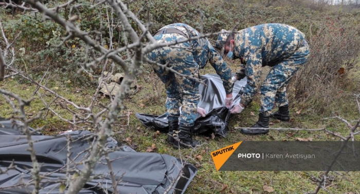 Baku Tribune comments on attempt of Armenia's authorities to hide the bodies of Armenian soldiers from the public - VİDEO
