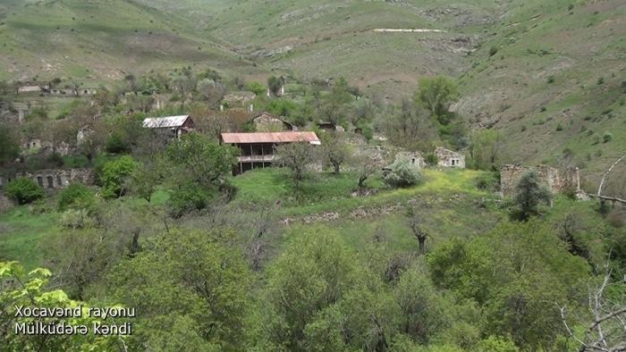 Azerbaijan's Defense Ministry releases video footages of Mulkudara village, Khojavand district  - VIDEO