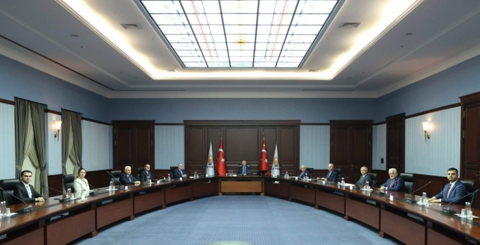 Turkish President receives delegation of New Azerbaijan Party