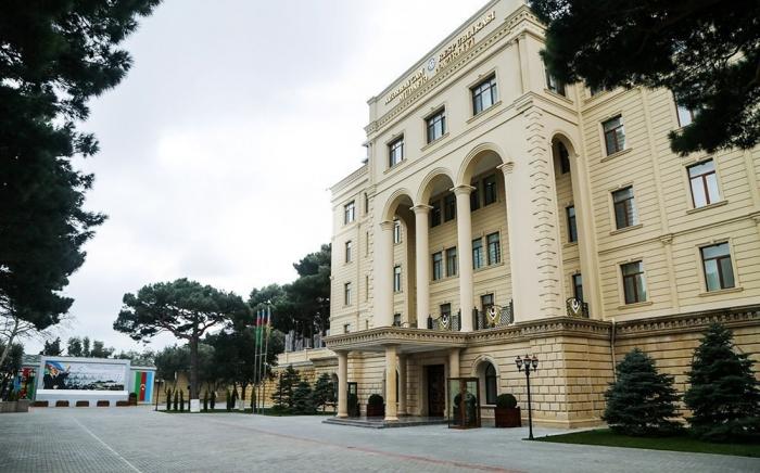 Azerbaijan's Defense Ministry issues information