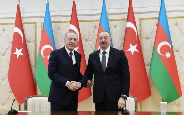 "Azerbaijani, Turkish presidents visited ""Khan gizi"" spring in Shusha"