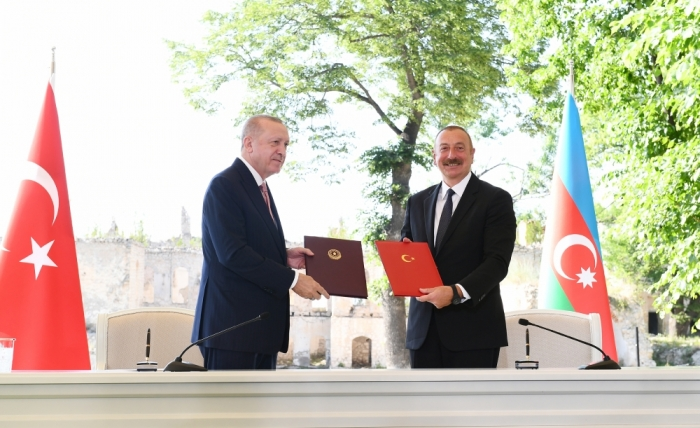 The Shusha Protocol Cements the Alliance between Turkey and Azerbaijan