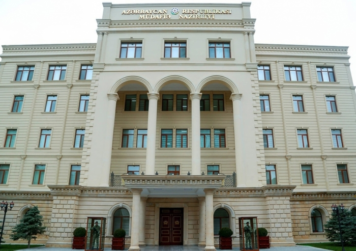 Defense Ministry: Armenian armed forces subjected to fire positions of Azerbaijan Army in direction of Tovuz district