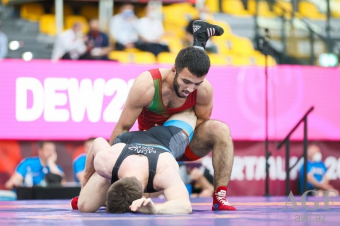 Azerbaijani wrestler crowned European champion
