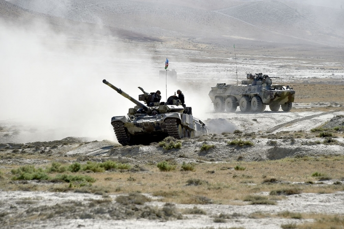 Azerbaijani-Turkish joint exercises continue in Baku