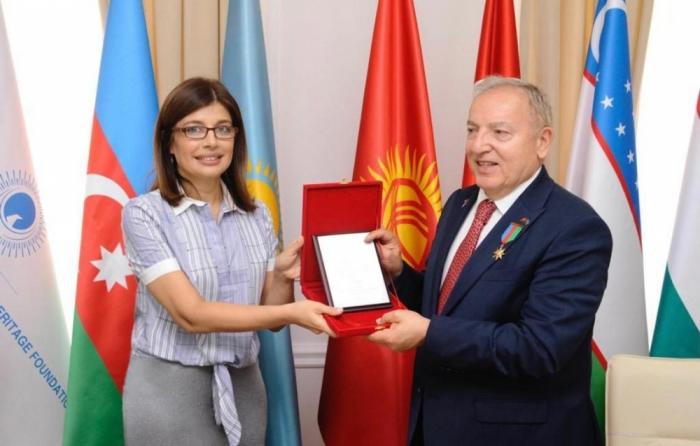 Ex-Ambassador of Turkey to Azerbaijan awarded