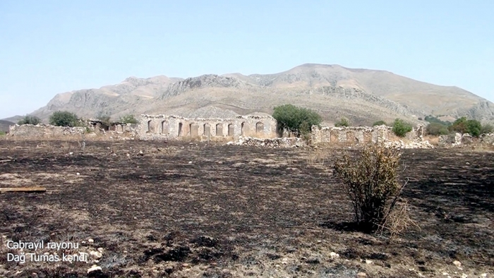 Video footages of Dagh Tumas village, Jabrayil district
