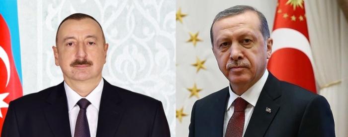Ilham Aliyev made a phone call to Recep Tayyip Erdogan