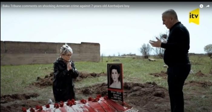 Baku Tribune comments on  Armenian crime against 8-years old Azerbaijani boy - VİDEO
