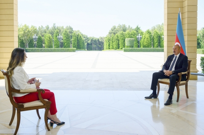 President Ilham Aliyev: The accuracy of the maps provided by Armenia at the latest stage is only 25 percent