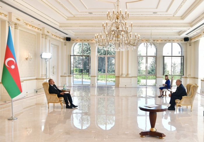 Ilham Aliyev received credentials of incoming Belgian ambassador