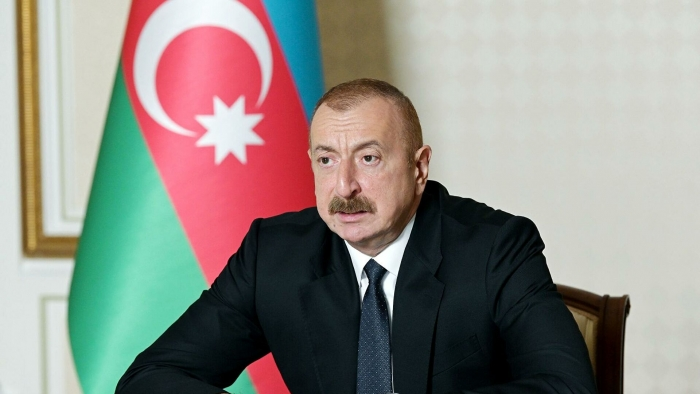 President Ilham Aliyev congratulates Chinese counterpart