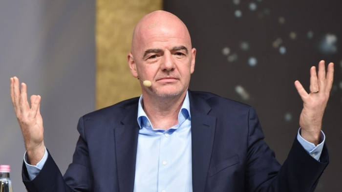 FIFA chief Infantino opens door to World Cup in Israel, Palestine and neighbours
