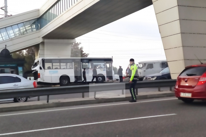 Azerbaijani MIA released footage of terrible accident in Baku that killed 5 people - VIDEO